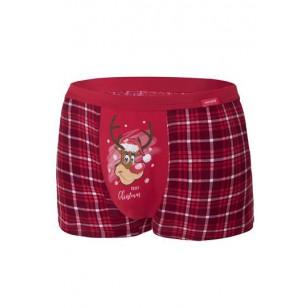 Apatiniai Reindeer 2 007/58 Czerwone Merry Christmas