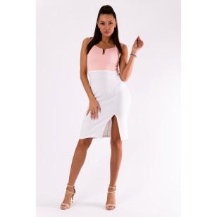 Suknelė EMAMODA ROŽINĖ 49001-2
