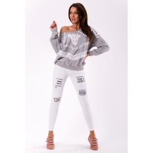 Kelnės-džinsai 46002-1