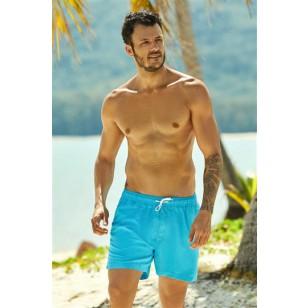 2020 vyriški maudymosi šortai Hue 37826-55X Niebieskie