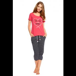 Pižama Tayla 36809-30X Różowa