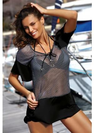 2018 Paplūdimio apranga Tunika Claire Nero
