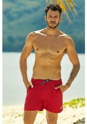 2020 vyriški maudymosi šortai Hooper 37833-33X Czerwone