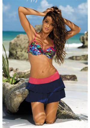Paplūdimio sijonėlis Mila Uniform-Granatina