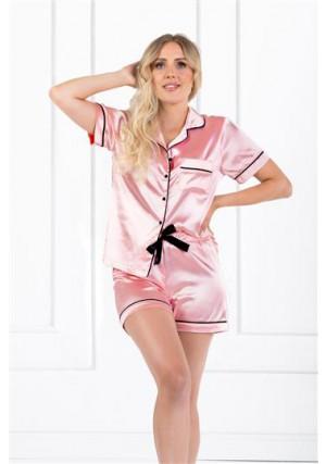 Pižama Vintage Style Pink