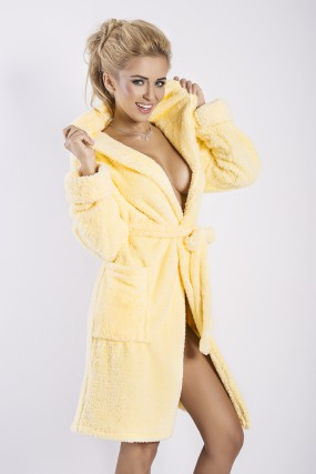 Chalatas Diana dr-gown yellow
