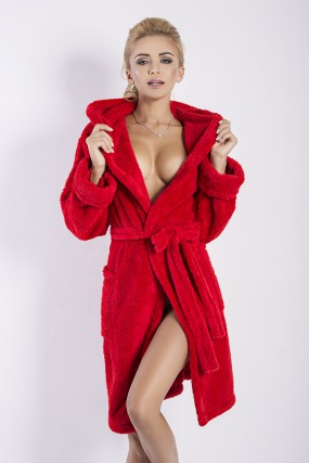 Chalatas Diana dr-gown red