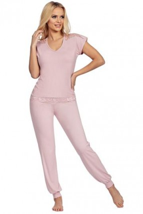Pižama Lena Powder Pink